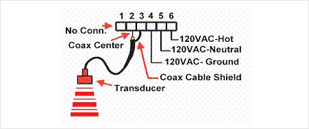 Level Sensor LP wires