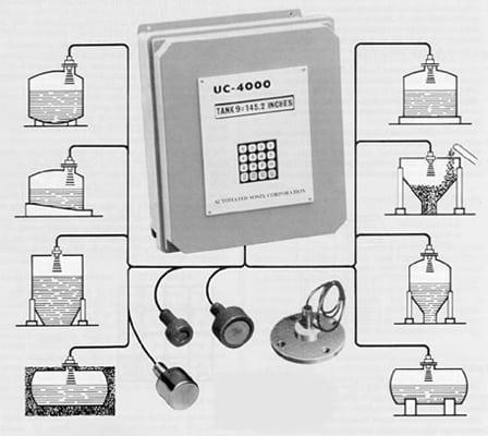 UC-4000 Level Sensor can sense up to 9 tanks.