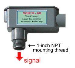 Sonix-40 Ultrasonic Level Transmitter